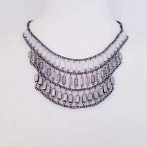 NAKAMOL Multi-Strand Bib Necklace